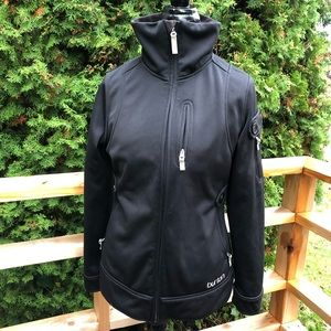 Burton 4 pocket Dry Ride black soft shell jacket